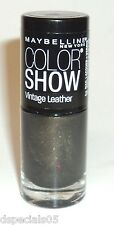 Maybelline Color Show LE Vintage Leather Nail Polish MOD MOSS 875