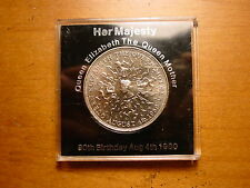 British 1980 Crown Coin Celebrating Queen Mother 80Th Birthday