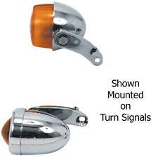 Chrome Harley Springer Softail 1988-2006 Turn Signal Lowering Mounting Bracket