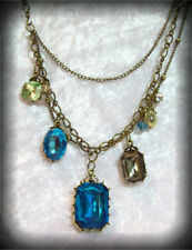 VINTAGE Style NECKLACE.   Baroque. Antique Look, Chunky.   By Funk n Awesome