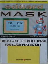 Eduard 1/48 EX043 Canopy Mask for the Hasegawa Henschel Hs-129 kit
