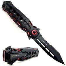 "8.75"" TAC-FORCE Tactical Folding Pocket Knife Spring Open Assisted TANTO Blade"