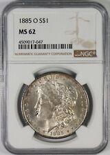 1885-O $1 Morgan Silver Dollar Coin NGC MS62