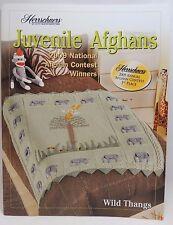 New Herrschners Juvenile Afghans 2009 Crochet Award Winners Pattern Book Penguin