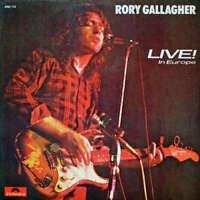 Rory Gallagher Live! In Europe LP Album Vinyl Schallplatte 184373