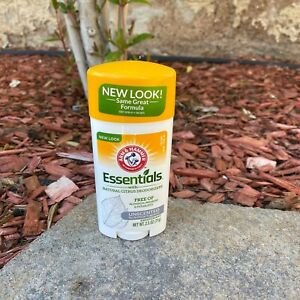 Arm & Hammer Essentials Natural Citrus Deodorant Unscented Aluminum Free