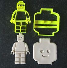 Lego Man Lego Head Uk Seller Plastic Biscuit Cookie Cutter Fondant Cake Decor