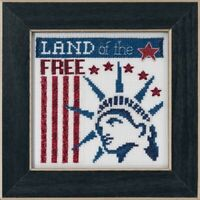 Mill Hill - Patriotic Quartet - Land of the Free - Cross Stitch Kit - MH17-1912