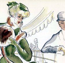 L'INGÉNUE LIBERTINE Colette Maurice Pouzet Panthéon Pastels 1952 EO Numé Curiosa
