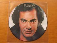 NEIL DIAMOND On The Way To The Sky 1981 UK VINYL LP PICTURE DISC CBS 11-85343