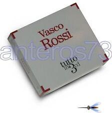 "VASCO ROSSI ""TUTTO IN 3 CD"" RARO BOX 3 CD - SIGILLATO"