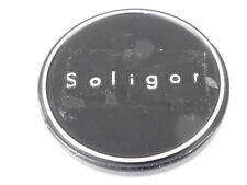 Used Soligor 49mm Lens Front Cap Black slip-on type metal