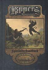 RIPPERS RESURRECTED-Spielleiterhandbuch-(HC)-SAVAGE WORLDS-PROMETHEUS GAMES-neu
