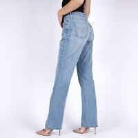 Levi's 515 Bootcut hellblau Damen Jeans DE 38 / US W31 L30