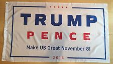 50x WHOLESALE LOT Trump Pence 3'x5' Flag 2016 Make Us Great November 8 Donald