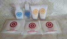 Lot of 7 Raio Revitalizing Citrus Mint Shampoo - Conditioner Soap Travel Hotel