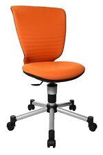 Kinder Stuhl Schreibtisch Drehstuhl Topstar Titan Junior 3D orange 2.Wahl B-Ware