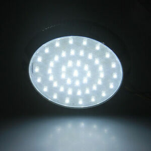 Universal Car 12V 46LED Interior Dome Top Roof Light Ceiling Lamp White Round