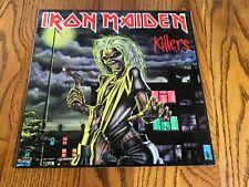 IRON MAIDEN KILLERS LP PROMO STILL SEALED!