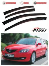 For Mazda 3 2003-2009 1 Gen Window Deflector Visor Vent Rain Wind Guard
