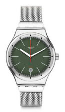 Swatch Sistem KAKI S Automatic Watch yis407gb Analogue Stainless Steel Silver