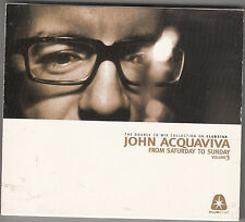 JOHN ACQUAVIVA - from saturday to sunday vol. 3 CD