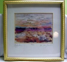 """Bracha Lavee """"The Other Jerusalem"""" Limited Edition Signed Seriagraph 122/370 Art"""