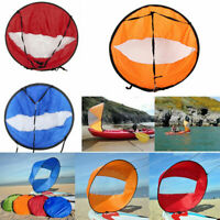 Portable 42 '' Downwind Wind Paddle Popup Kayak Canoe Sail Wind Kayak Part Sport