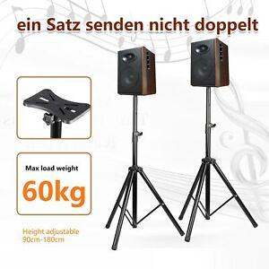 2x DJ PA Metall Boxen Ständer Lautsprecher Stativ Boxenstativ Hochständer Träger