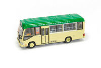 Tiny City 180 Hong Kong Toyota Coaster Green Minibus Red 19 Seated Diecast