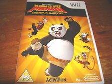 Kung Fu Panda Legendary Warrior for Nintendo Wii UK Preowned Fast DISPATCH