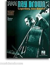 Ray Brown Legendary Jazz Bassist PLAY Autumn in New York DOUBLE BASS Music Book