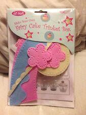 Make Your Own Fairy Cake Trinket Box Felt Crafts New & Sealed