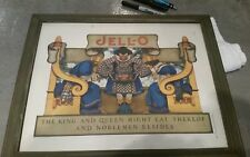 Original 1922 MAXFIELD PARRISH ad for JELL-O NOT A Reproduction