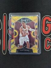 2020-21 Panini Select Basketball ISAAC OKORO Gold Wave Concourse Rookie RC SSP