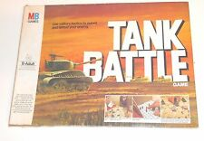 Vintage 1976 Milton Bradley Games ~ TANK BATTLE GAME ~ Military 99% Complete A2