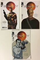 Serenity #s 1 2 3 Joss Whedon Limited Series Dark Horse Comics Lot of 3 NM- 9.2
