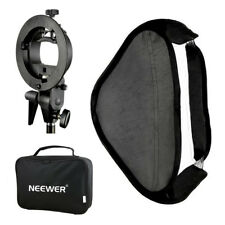 Neewer Multifunctional S-type Speedlite Bracket + 40x40cm Softbox + bag