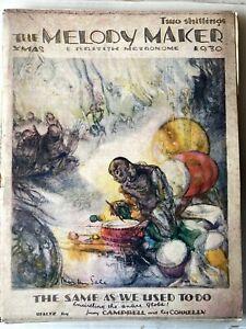 MELODY MAKER 1930 XMAS EDITION, BUMPER ISSUE!