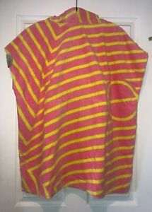Unisex Kids or Small Adult LEUS Changing Surf Poncho Towel Size S Small EUC!