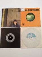 """George Harrison 4 7"""" Singles 1 P/S All Those Years Ago, Got My Mind Set On You"""