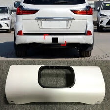 Pearl White Painted Rear Bumper Trailer Tow Hitch Cover For LEXUS LX570 2016-20