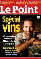 LE POINT*N°2453*05/09/2019*SPÉCIAL VIN+BIENNALE PARIS 2019*NEUF SOUS FILM*LIV.0E
