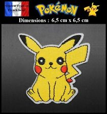 Écusson Brodé Thermocollant NEUF ( Patch Embroidered ) - Pokémon Pikachu (Ref2)