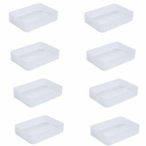LOT DE 8 Boites en plastique Pure Box format A5 - 4298004 SUNDIS