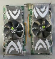 Lot of 2 NVIDIA QUADRO FX - 4500
