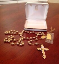 Rosary By Rr Necklace From Roman With Tag And Original Box