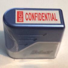 Confidential Deskmate Self-Surt Pre-Inked Red Rubber Stamp-ke-c11
