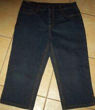 Rockmans 3/4 denim jeans Size 12