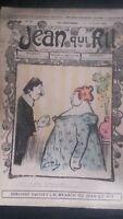 Rivista Jeans Che Rit N° 309 1907 Giornale Illustre che Appaiono Il Venerdì ABE